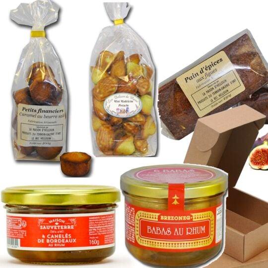 Panier Gourmand : Les Desserts Gourmands