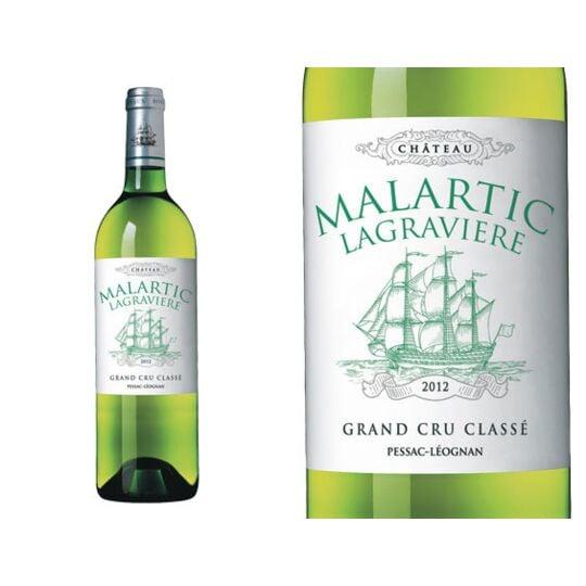 Château Malartic-lagravière Blanc 2012 - Vin  Blanc