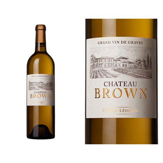 Château Brown Blanc 2015 - Vin  Blanc