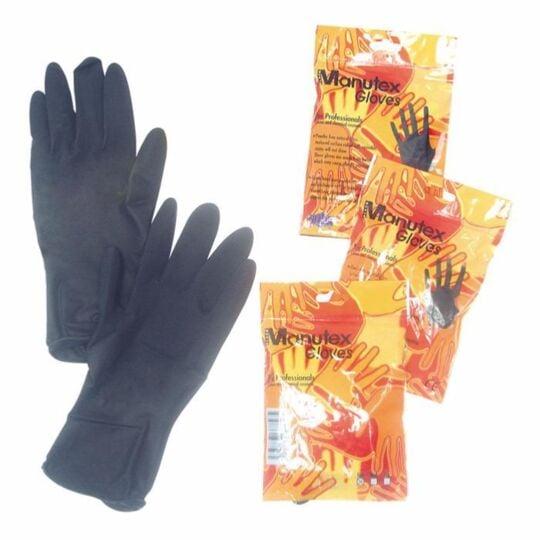 Gants De Protection Ré-utilisables Noir X2